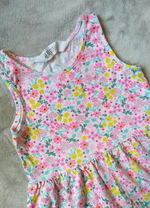 Ніжна сукня сарафан для принцеси h&m💐 /милое платье для девочки 2-4 годика 🌸