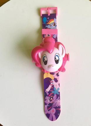 Проекционные часы my little pony с 24 видами изображениями героев мультфильма