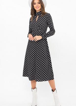 Очаровательное платье миди (2 цвета) * отличное качество