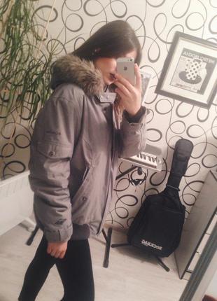Оригинальная зимняя курточка columbia