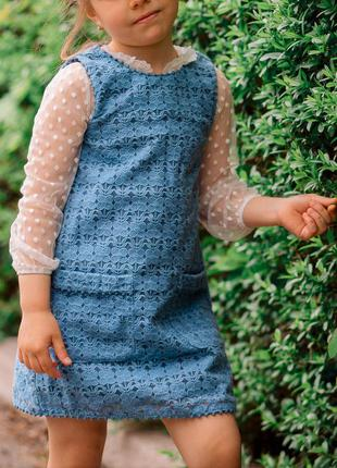 Платье на девочку 4-5 лет сарафан