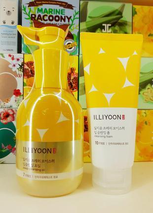 Освежающее гидрофильное масло с арома комплексом illiyoon fresh moisture cleansing oil 200 мл