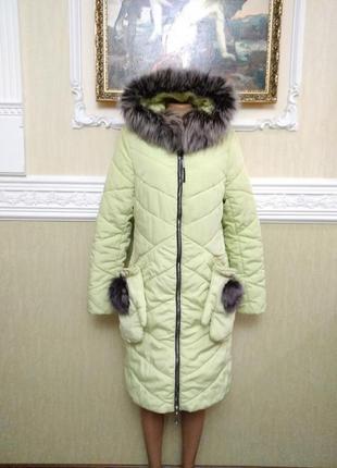 Зимняя куртка,полупальто nolvit.