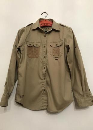 Блузка, рубашка,сафари, милитари