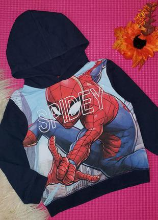 Свитшот  spiderman 3-4 года