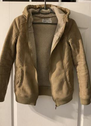 Куртка на овчине искусственной chillin от crop
