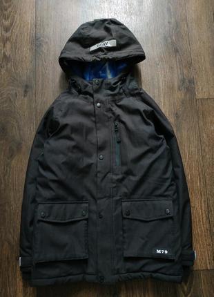 Куртка парка демисезонная на 12-13 лет