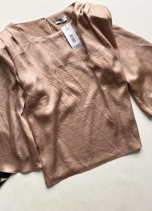 Шикарная блуза сатин 14 хл