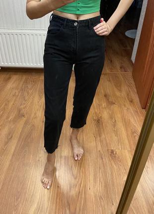 Укорочённые джинсы zara