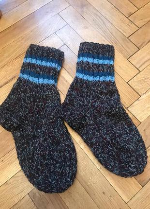 Теплые,вязаные носки,шерсть,ручная работа