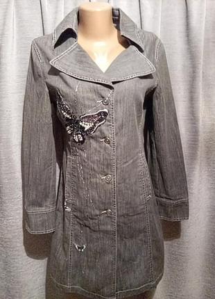 Длинный коттоновый пиджак 💖💖💖
