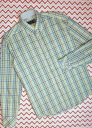 😉1+1=3 шикарная рубашка сорочка с длинным рукавом в клетку poldi, размер 48 - 50