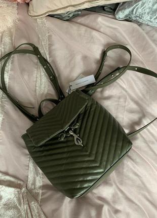 Rebecca minkoff кожаный рюкзак