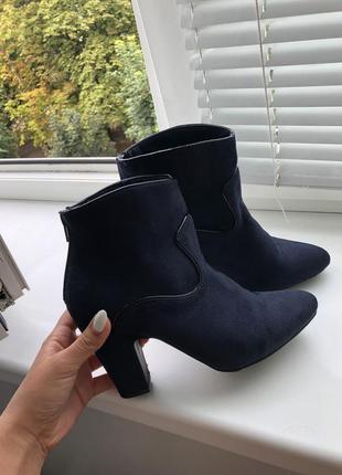 Сапоги сапожки ботинки полусапожки на осень демисезонные осенние 37 размер 36