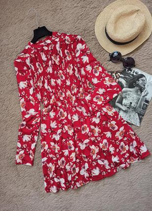 Шикарное платье в цветочный принт/плаття/сукня