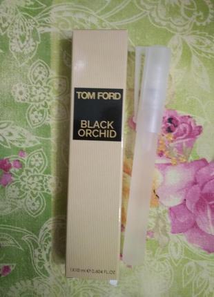 Парфюмированная вода black orchid унисекс мини спрей 10 мл