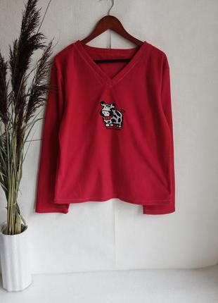 ✨флісова , тепла кофтинка , светр, свитер, для дому та сну ✨