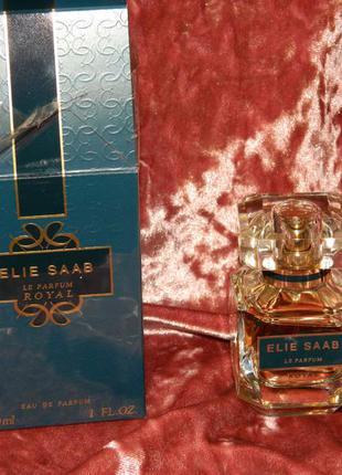 Парфюмированная вода elie saab le parfum royal 30 мл