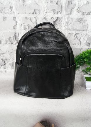Женский кожаный рюкзак портфель шкіряний жіночий сумка кожаная