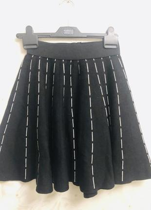 Шикарная теплая модная  как бандажная стильная юбка в стиле alaïa