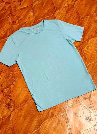 Базовая футболка. мята.