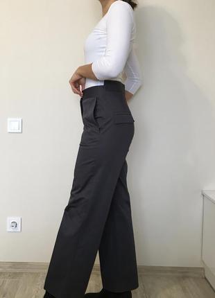 Штаны брюки высокая талия лён шелк cos p.38