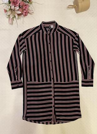 Блуза ххс-хс длинная