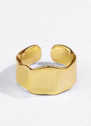 Кольцо серебро 925 под желтое золото / большая распродажа!