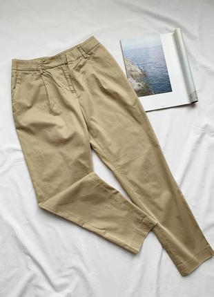 Штаны, штани, брюки, бежевые, бежеві, беж, stefanel