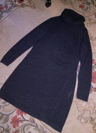 Тёплое,трикотажное платье,большого размера,турция