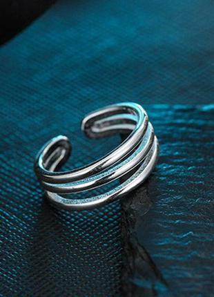 Тройное кольцо серебро 925 / большая распродажа!