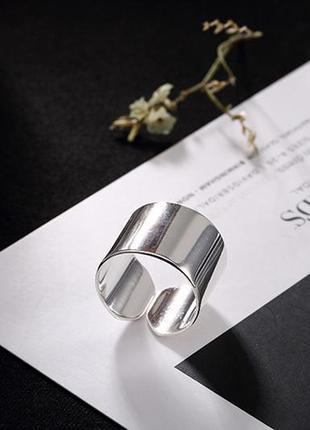 Кольцо гладкое серебро 925 / большая распродажа!