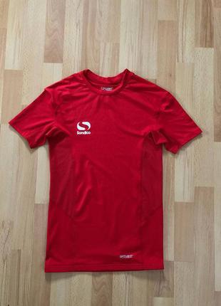 Компрессионная футболка для спорта sondico