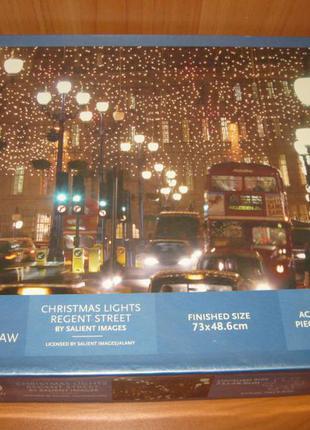 """Пазлы """"whs"""" 1000 шт. """"christmas lights regent street"""""""