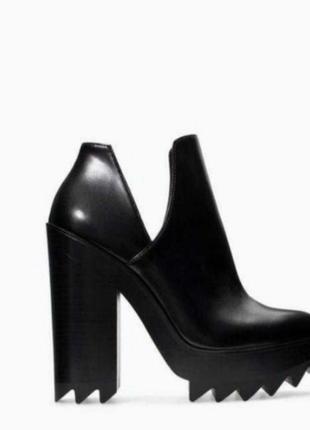 Zara крутые ботинки