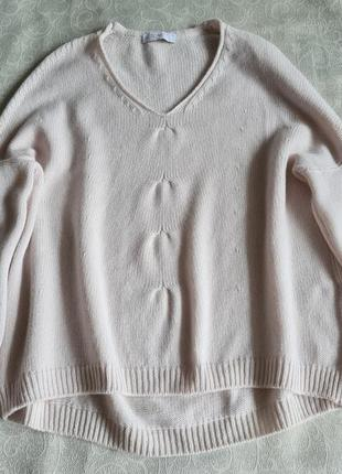 Женский свитер пуловер tonet italy кашемир италия