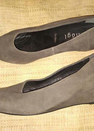 4р-24 см с носка туфли замша hogl
