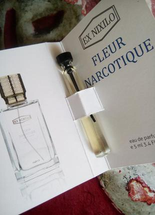 Бесплатно meest доставкой!💥 мега-скидка! 🔥fleur narcotique ex nixilo флер наркотик очень стойкий мини парфюм духи унисекс