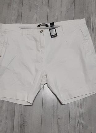 Распродажа лета шорты белого цвета из хлопка р 54