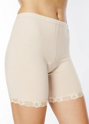 Шелковые бесшовные панталоны трусики трикотажный шелк австрия