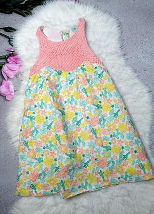 Хлопковое платье kiki&koko