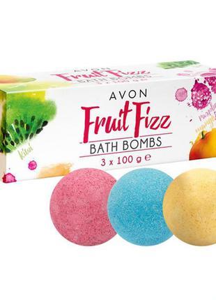 Бомби для ванни avon fruit fizz