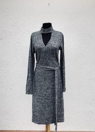Стильное тёплое мягкие приятное к телу платье