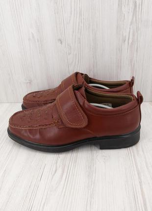 Легкие классические мужские туфли keller. размер uk10/ eur44.