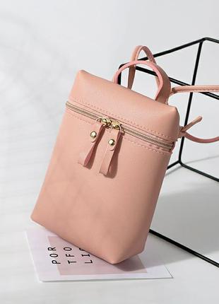 Женская сумка рюкзак портфель клатч бананка