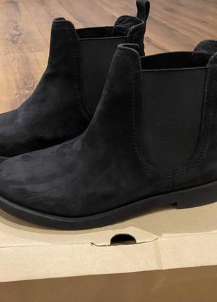 Демисезонные ботинки zara нубук 36 в мост новых