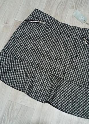 Стильная  шерстяная юбка от bogner