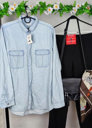 Стильная рубашка с карманами ovs бангладеш этикетка