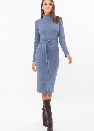 Тёплое ангоровое платье (3 цвета) * отличное качество