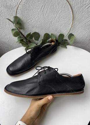 Кожаные туфли мокасины zign